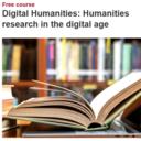 Screenshot from Digital Humanities online course