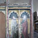 St Mark and St Matthew on the 16th-century screen at Bramfield, Suffolk.