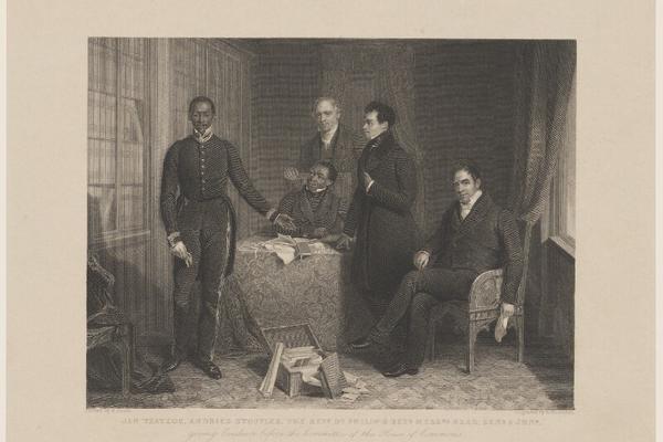 A Black presence in Victorian Britain in 1836