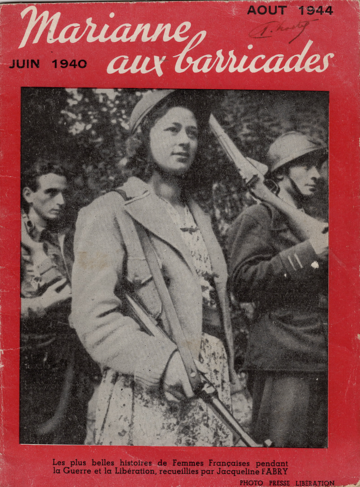 Book cover of Marianne aux Barricades